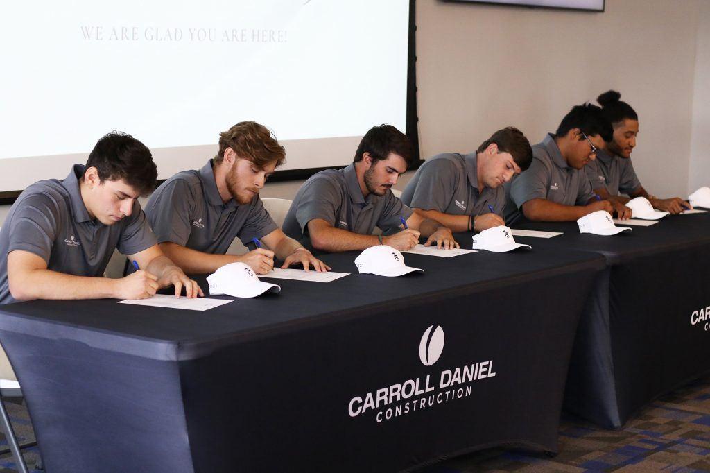 Six New Apprentices Signed to Carroll Daniel Program