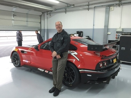 John Leverett is new Director of Motorsports Vehicle Technology