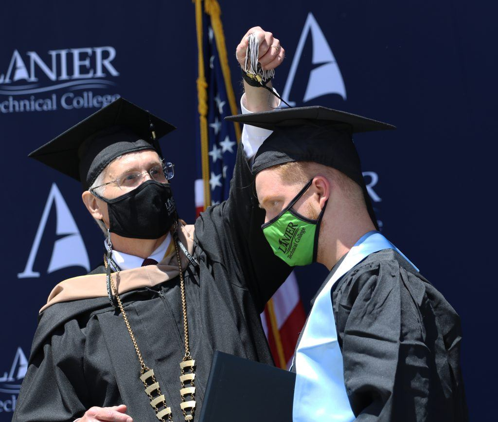 Lanier Tech Holds 55th Commencement