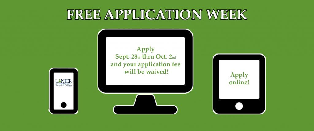 Free Application Week