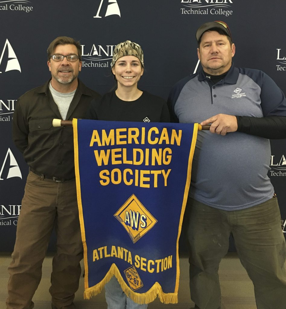 Lanier Tech Welding and Joining student appointed as Executive Member of American Welding Society