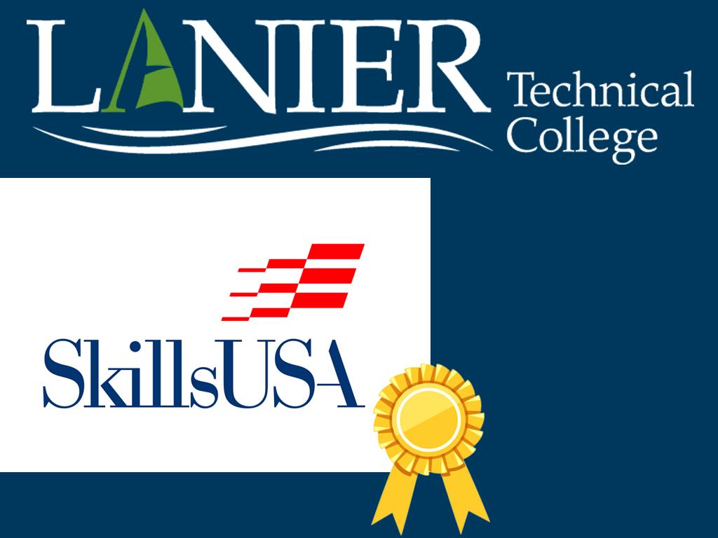 Lanier Tech Students shine at SkillsUSA Georgia