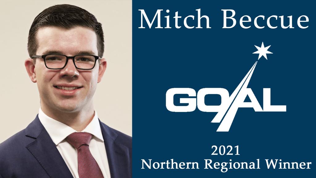 Mitch Beccue, GOAL Regional Finalist