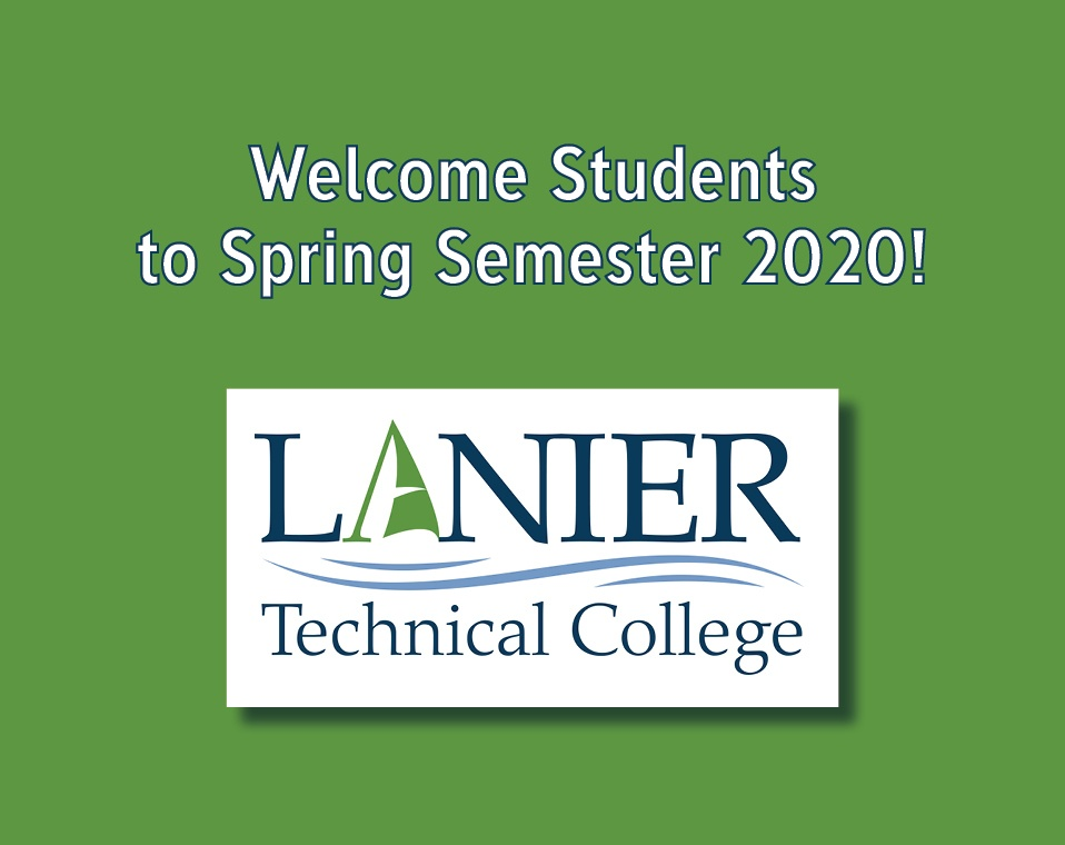 Welcome to Spring Semester 2020!